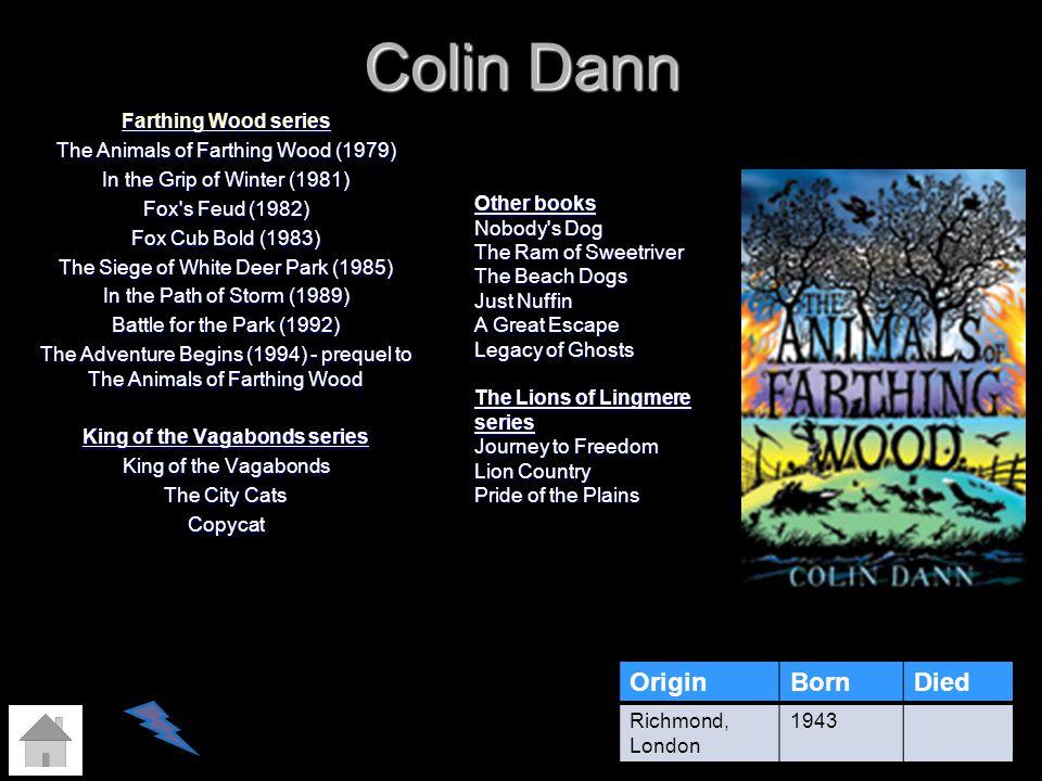 Colin Dann Origin Born Died
