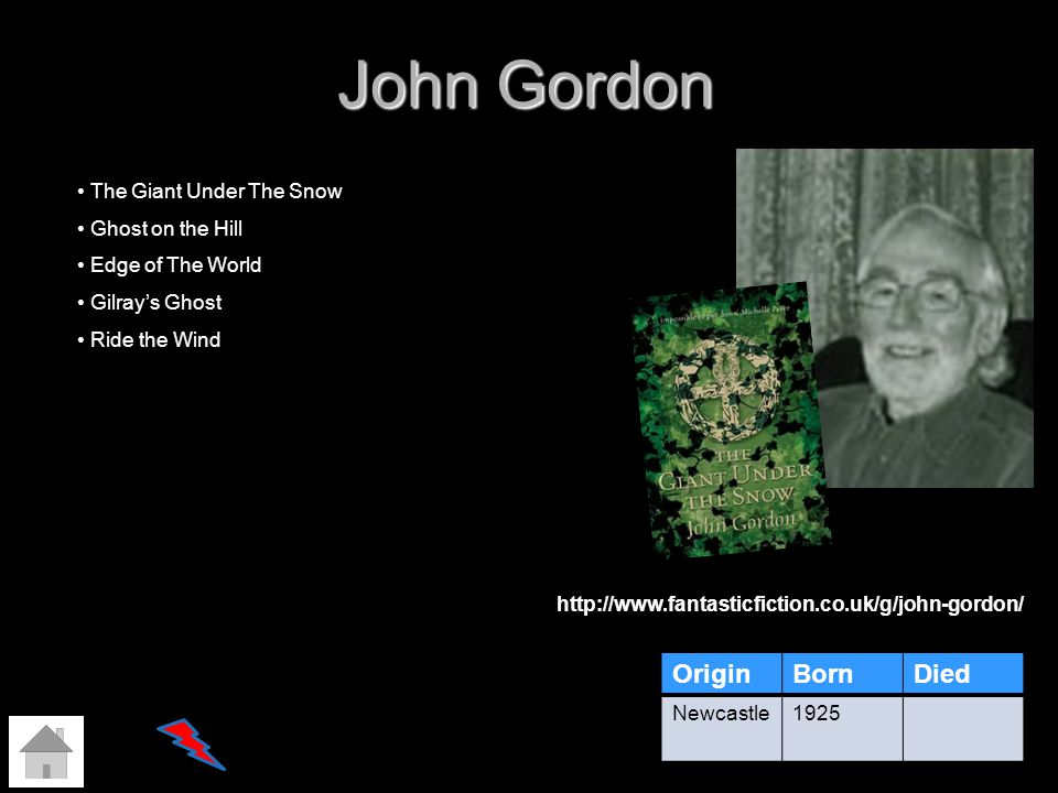 John Gordon Origin Born Died The Giant Under The Snow