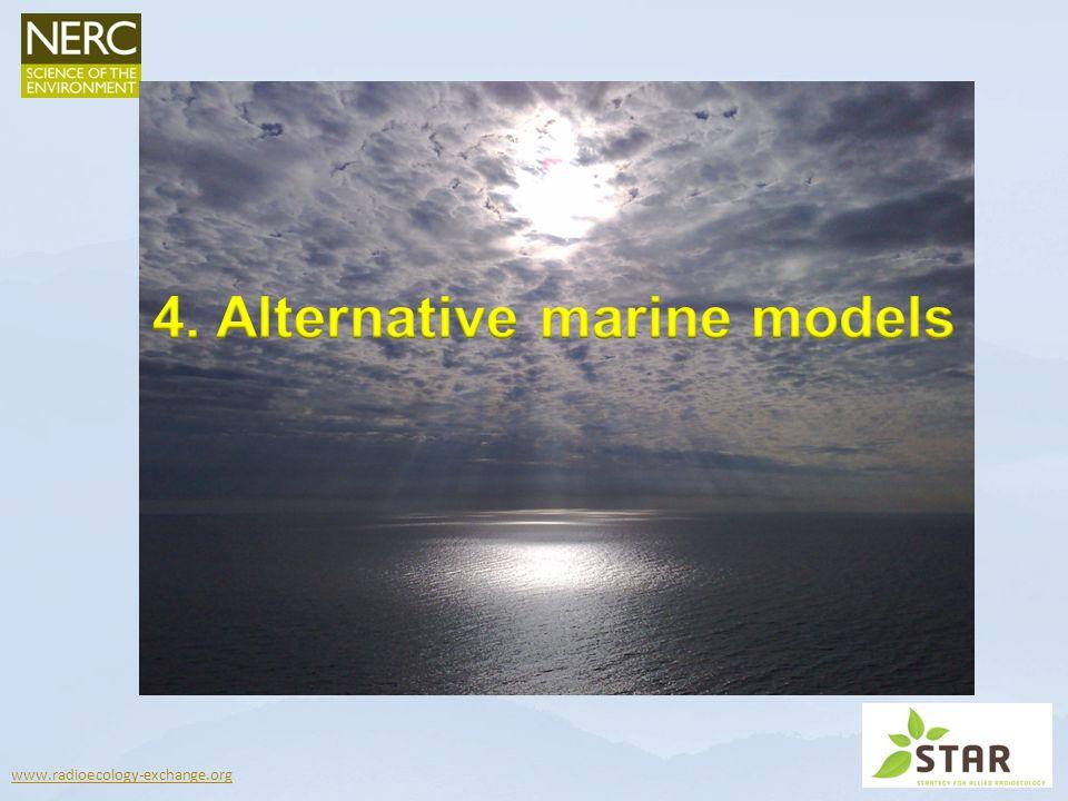 4. Alternative marine models