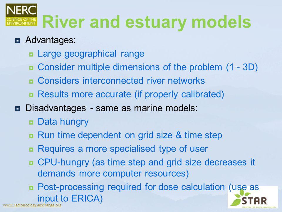 River and estuary models