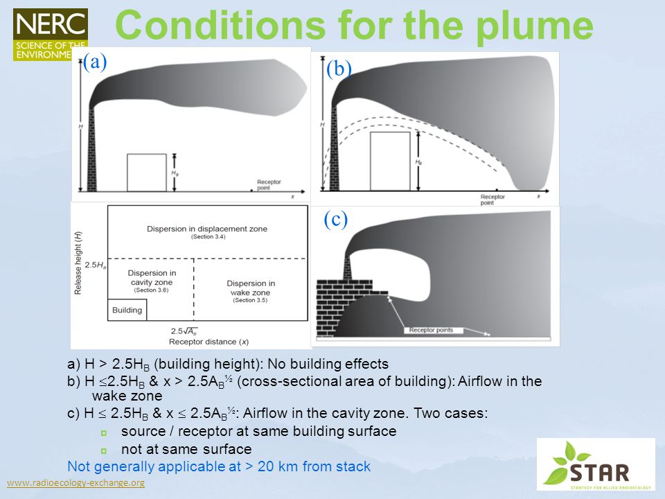 Conditions for the plume