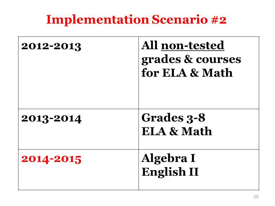 Implementation Scenario #2
