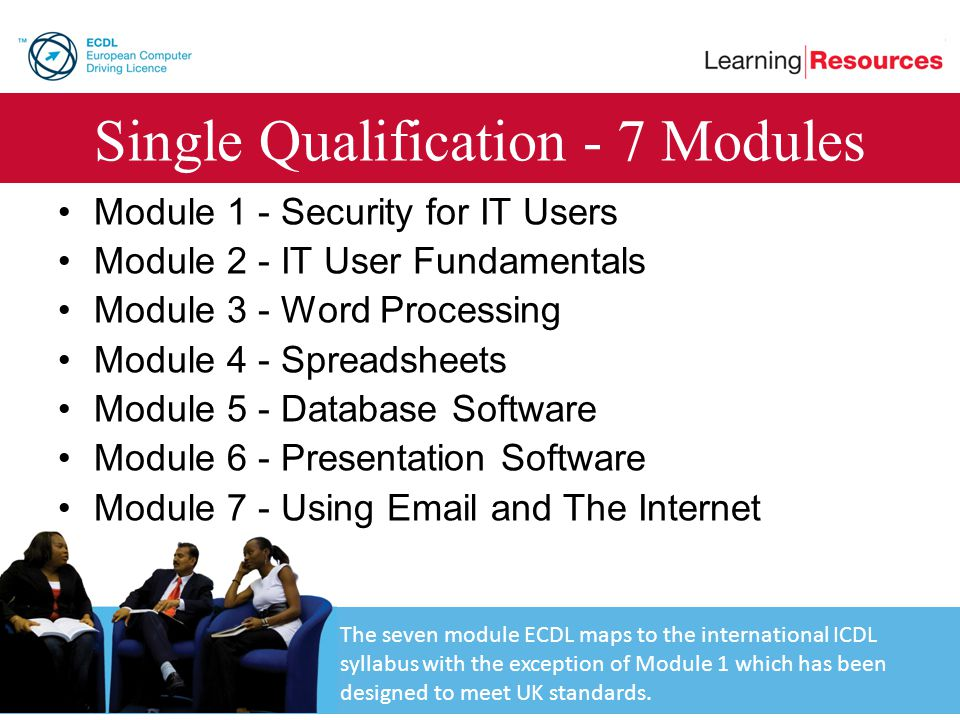 Single Qualification - 7 Modules