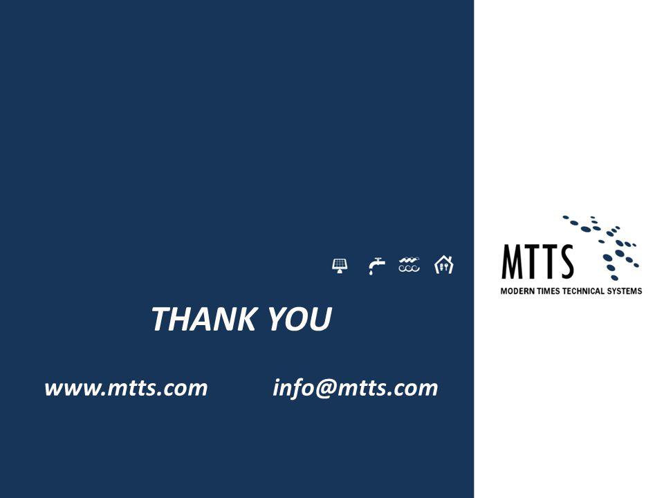 www.mtts.com info@mtts.com