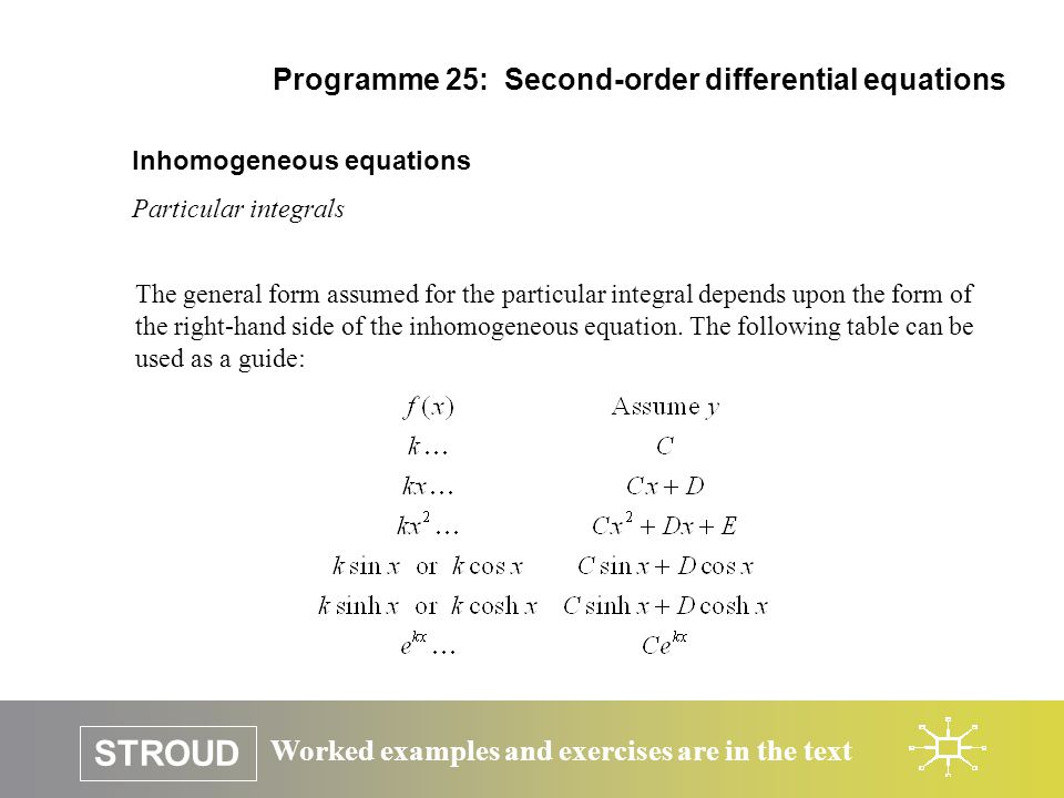 how to solve third order differential equations