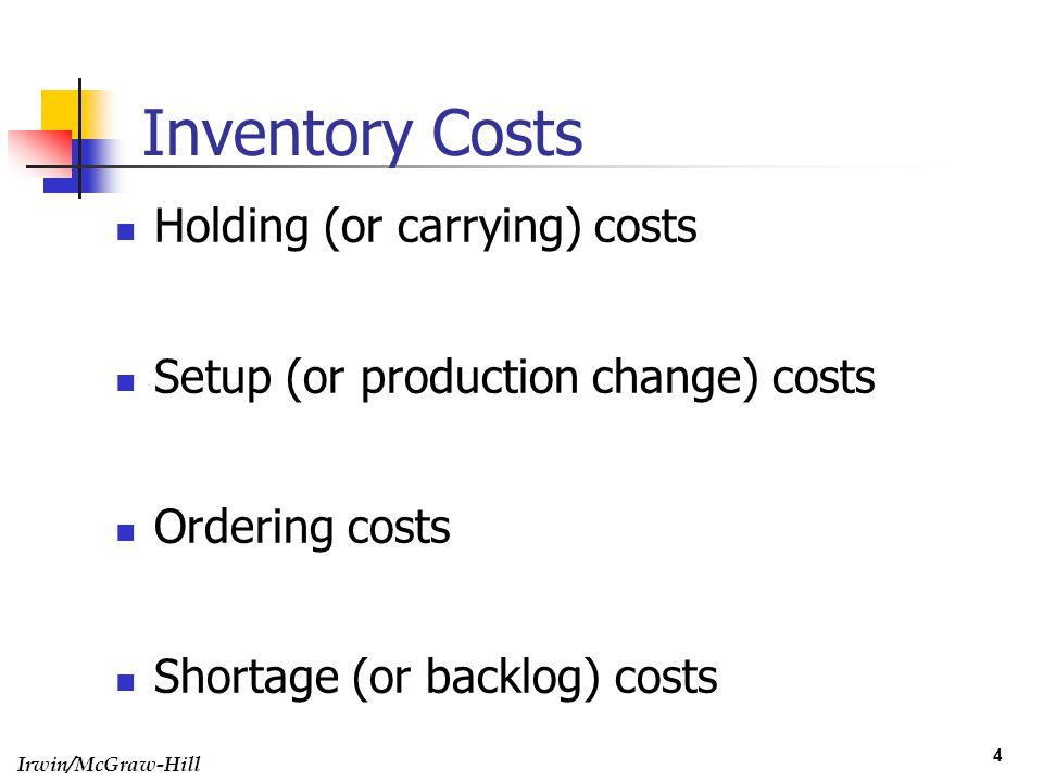 what are the major components of inventory carrying cost Sales, business - how to value your inventory - entrepreneurcom inventory valuation is a major issue that impacts their p what is included in cost of inventory.