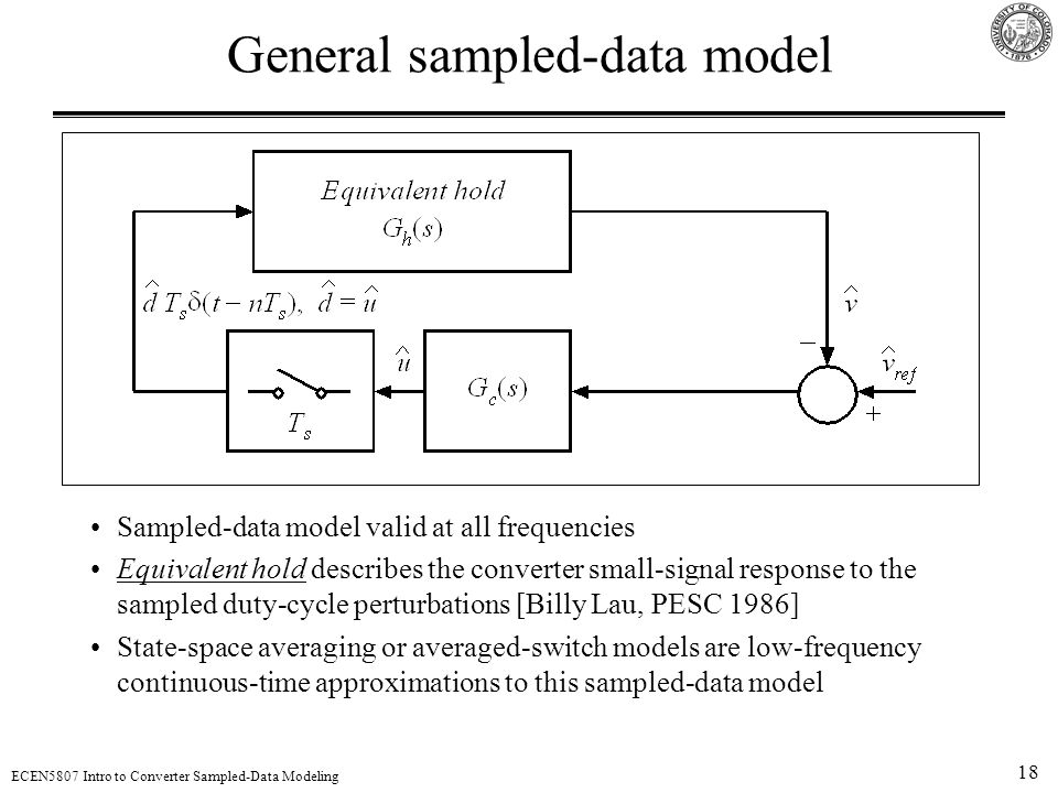 General sampled-data model