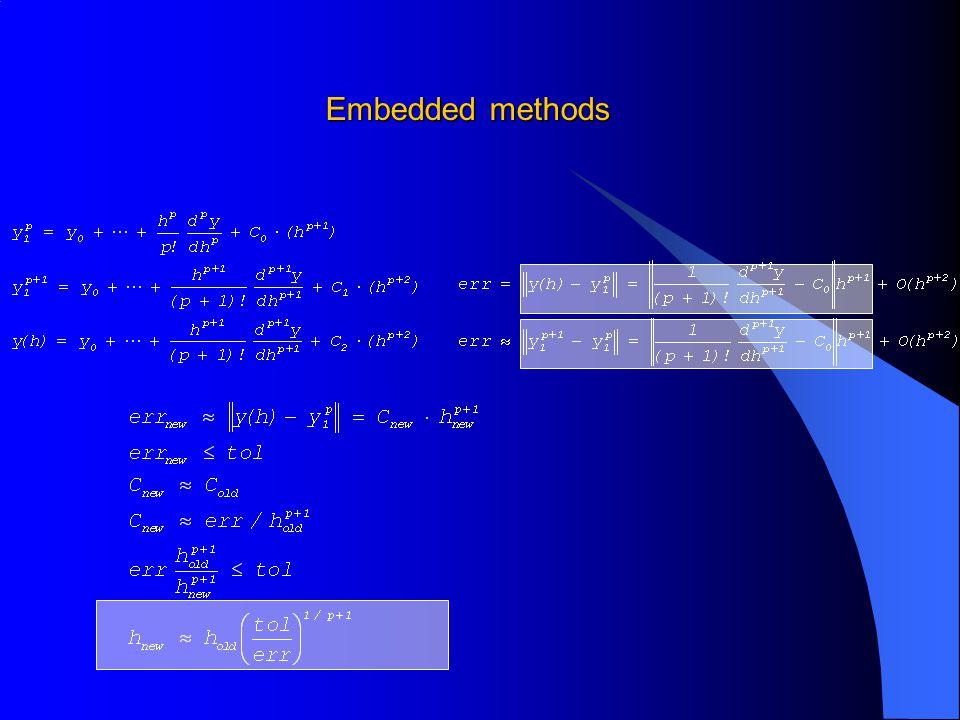 Embedded methods