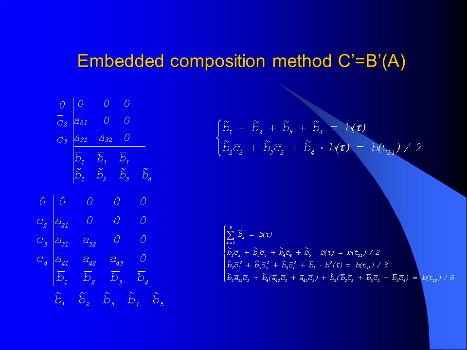 Embedded composition method C'=B'(A)