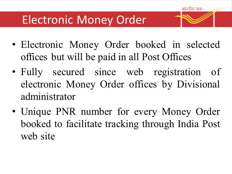 Electronic Money Order