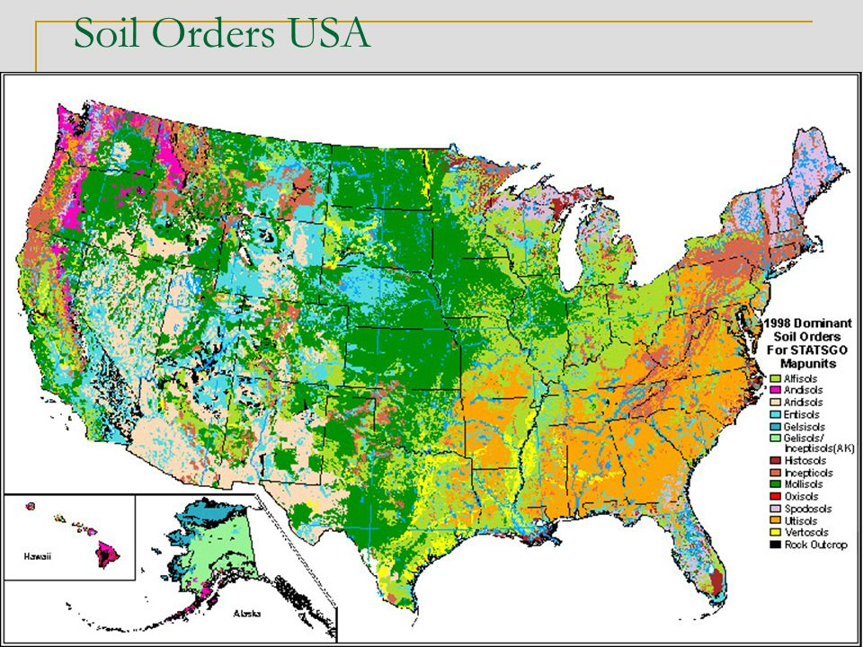 Soil Orders USA