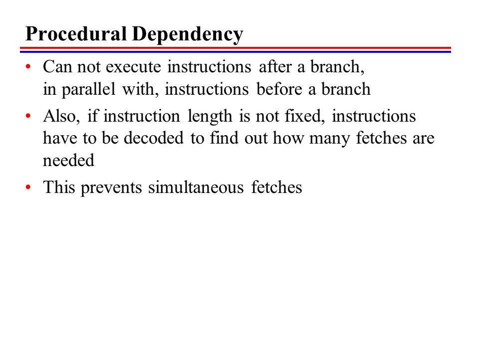 Procedural Dependency