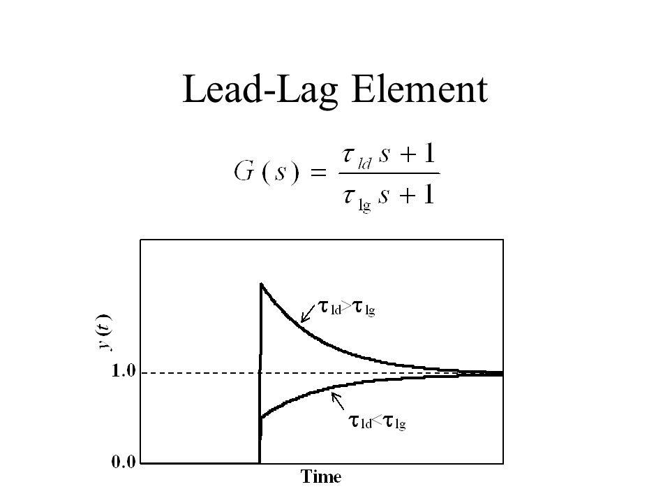 Lead-Lag Element