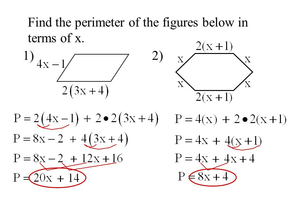how to find the perimeter of a figure