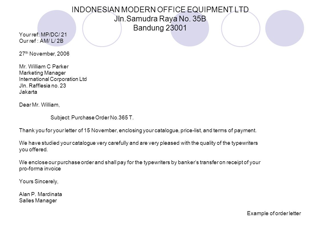 INDONESIAN MODERN OFFICE EQUIPMENT LTD Jln. Samudra Raya No