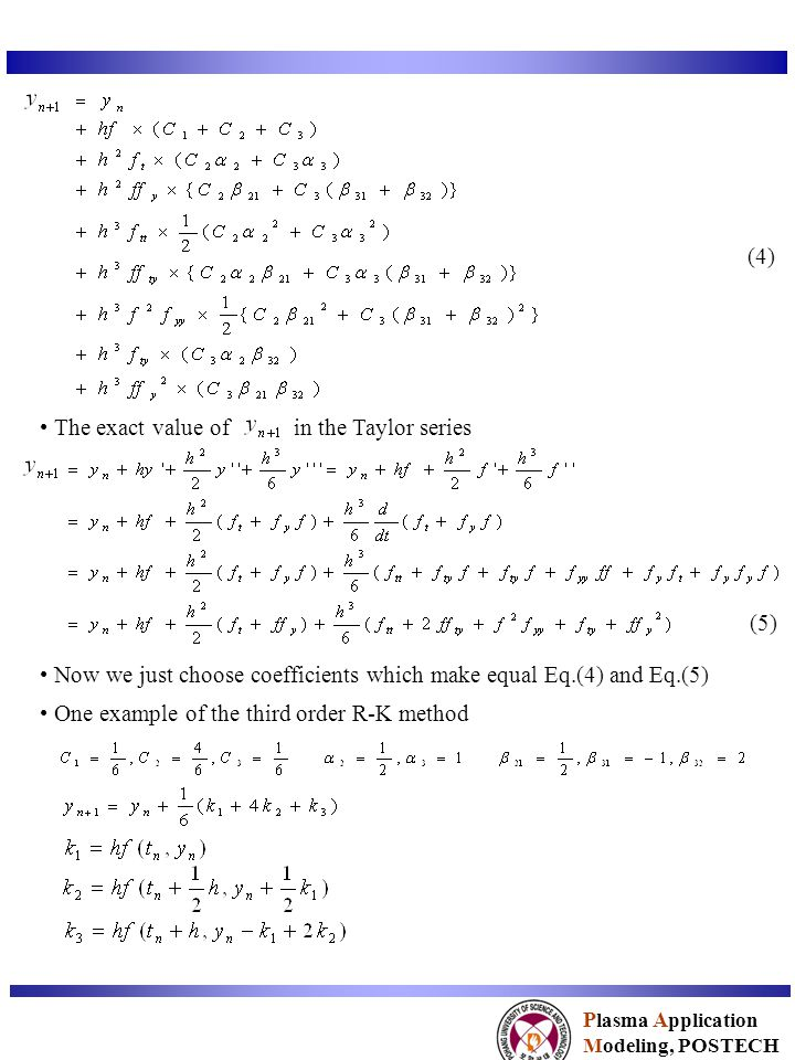 The exact value of in the Taylor series