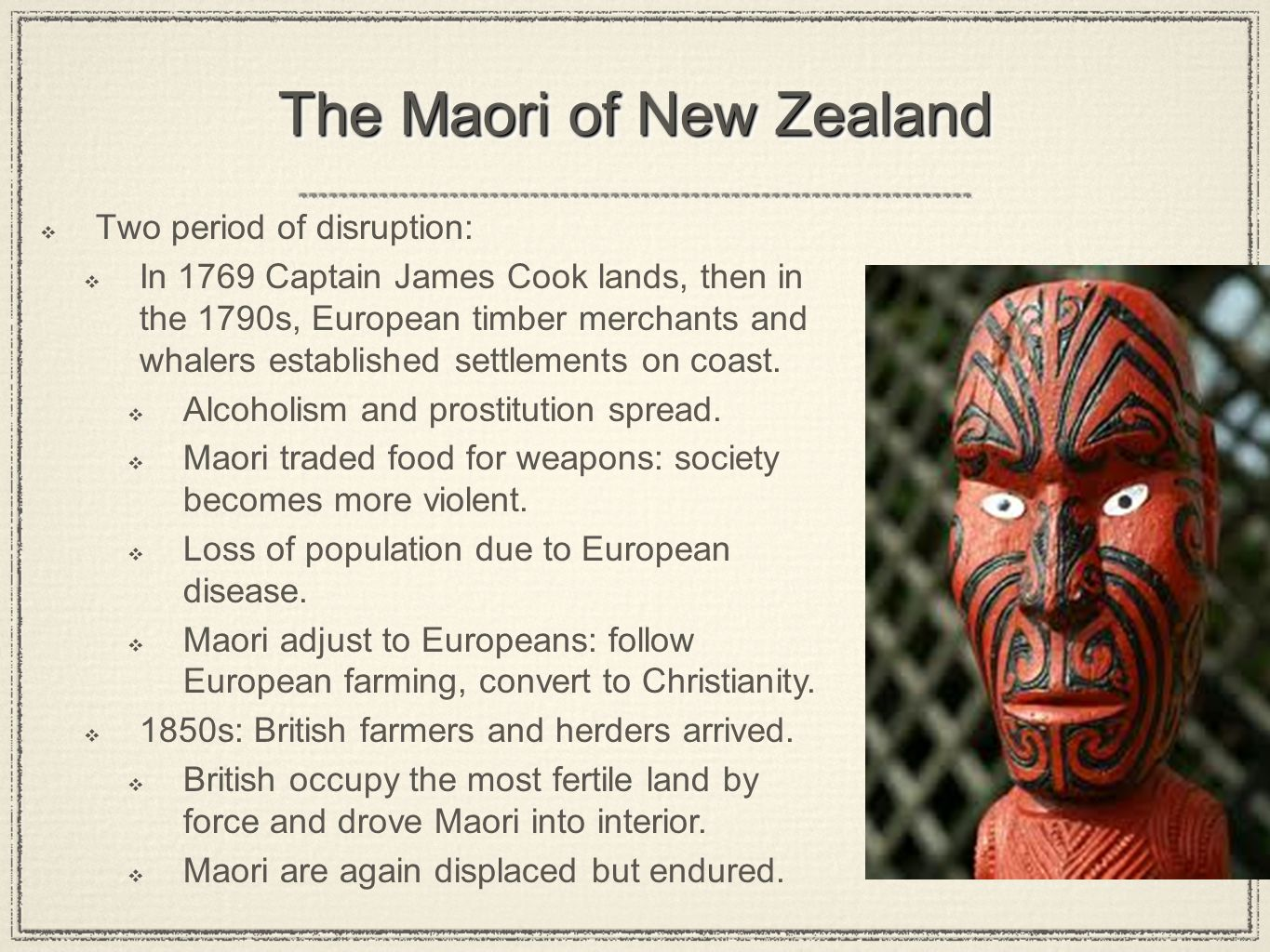 The Maori of New Zealand