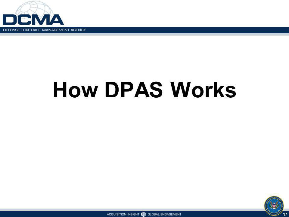 How DPAS Works 17