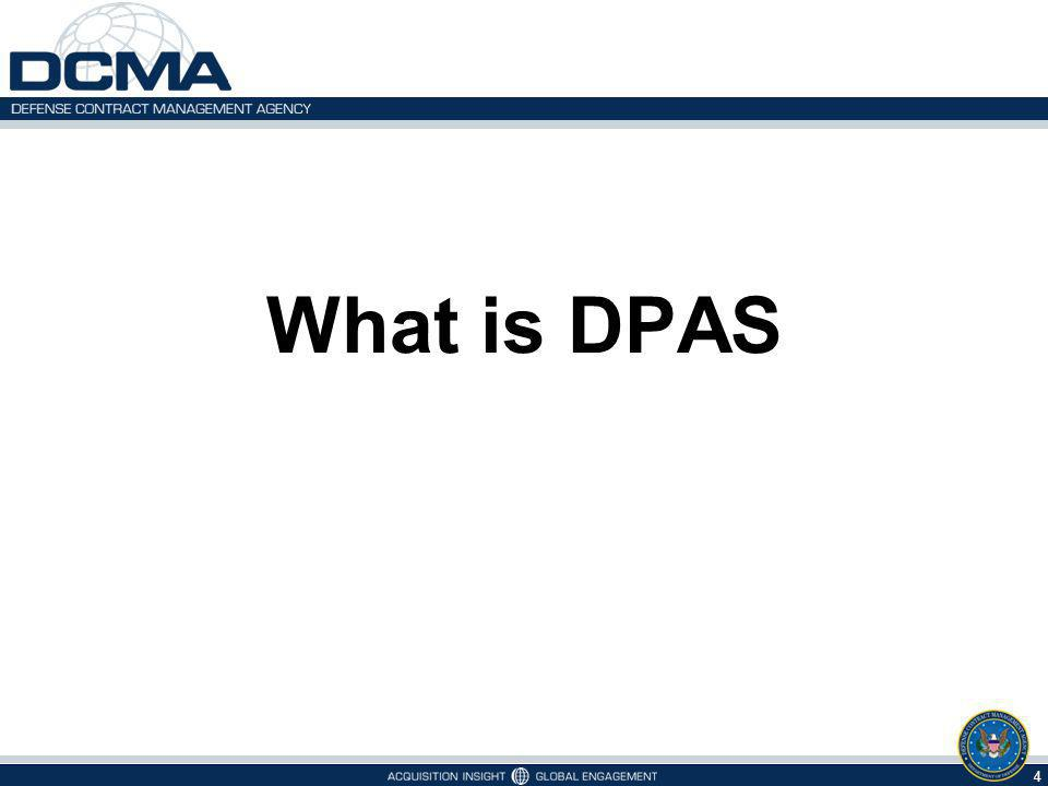 What is DPAS 4