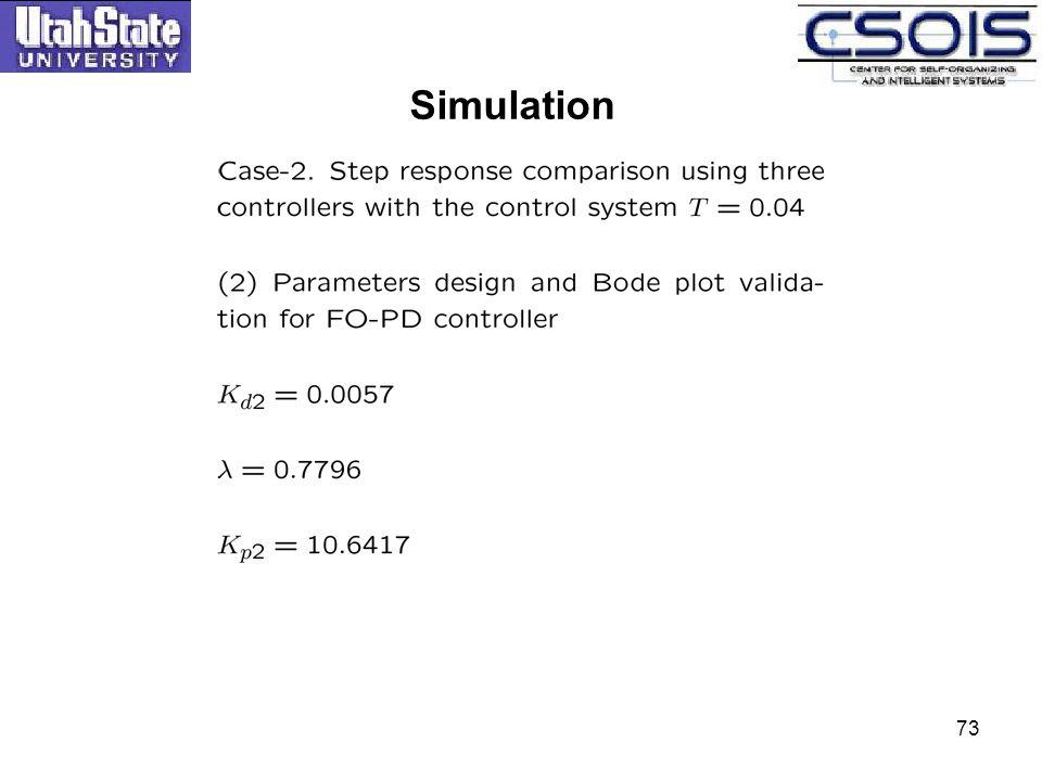 Simulation 73