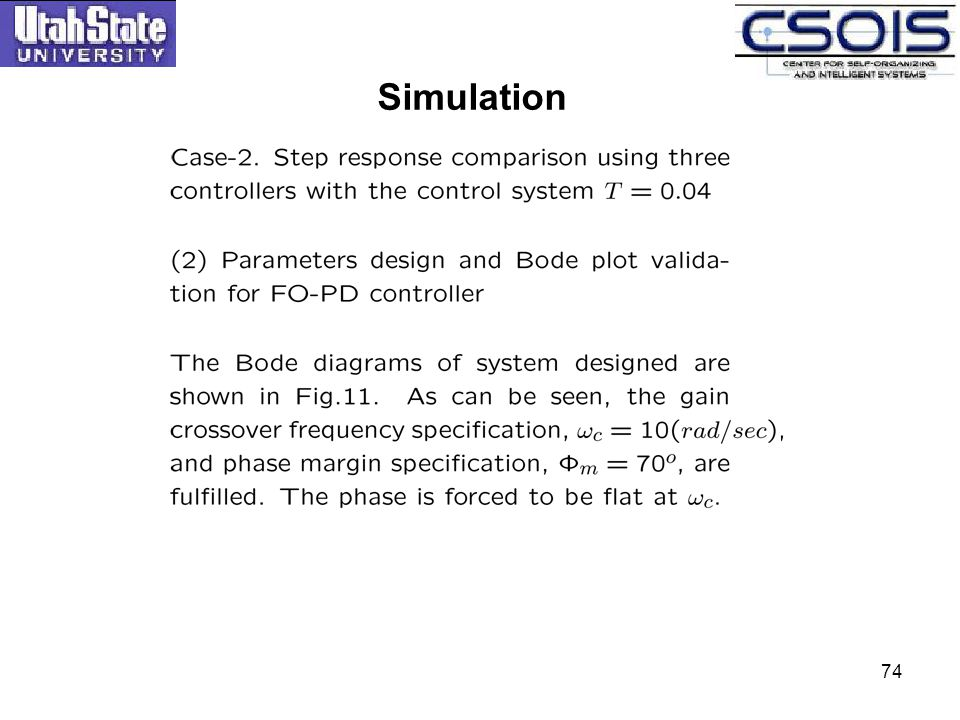 Simulation 74