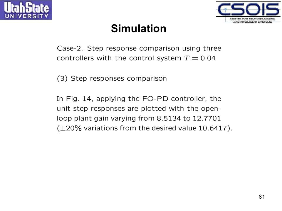 Simulation 81