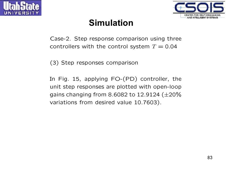 Simulation 83