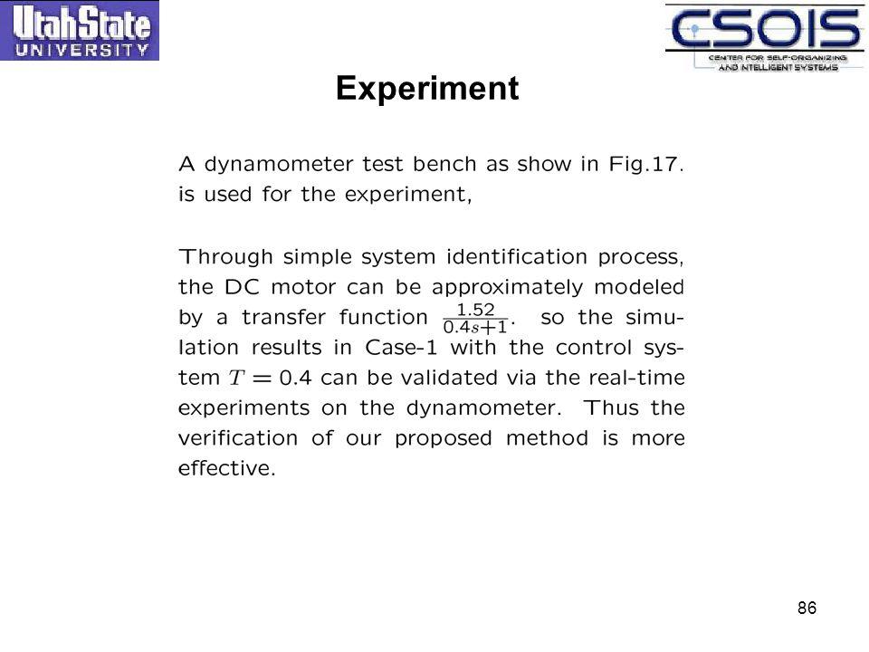 Experiment 86