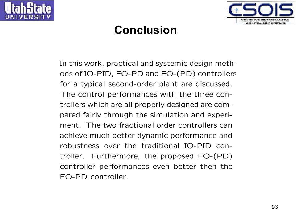 Conclusion 93