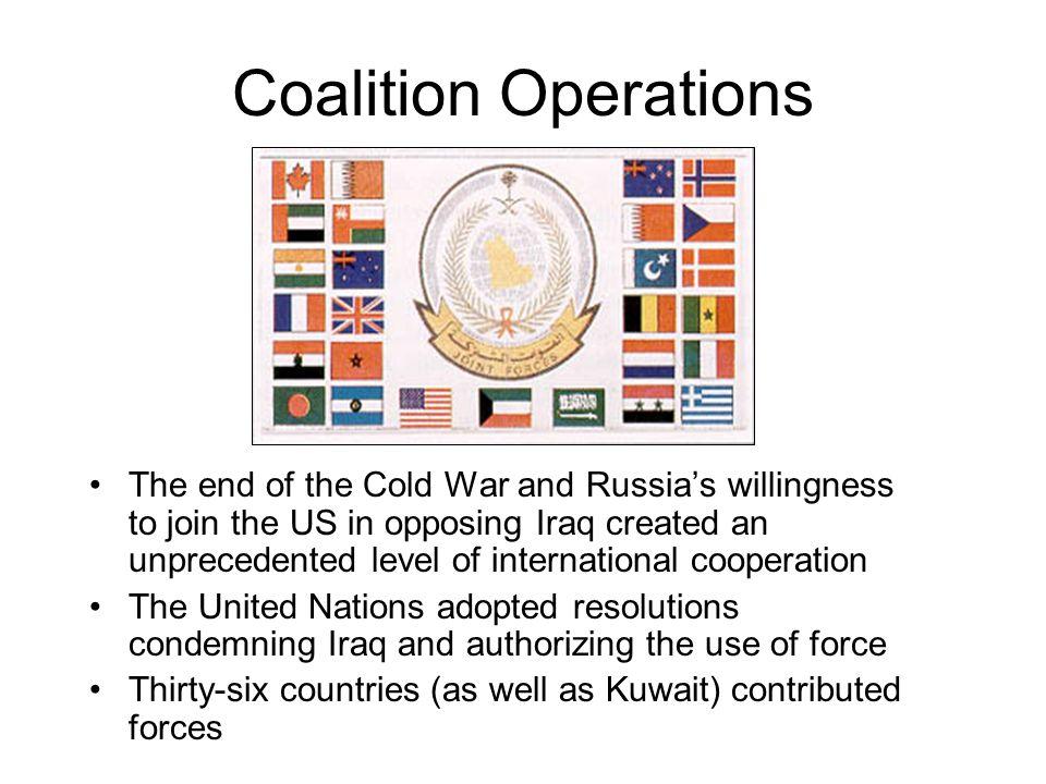 Coalition Operations