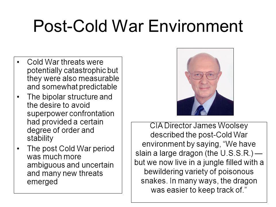 Post-Cold War Environment