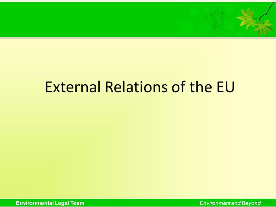 External Relations of the EU