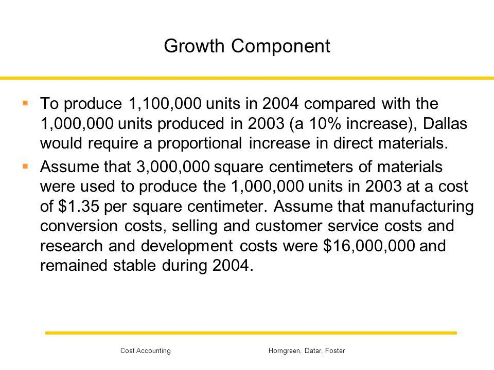 Growth Component