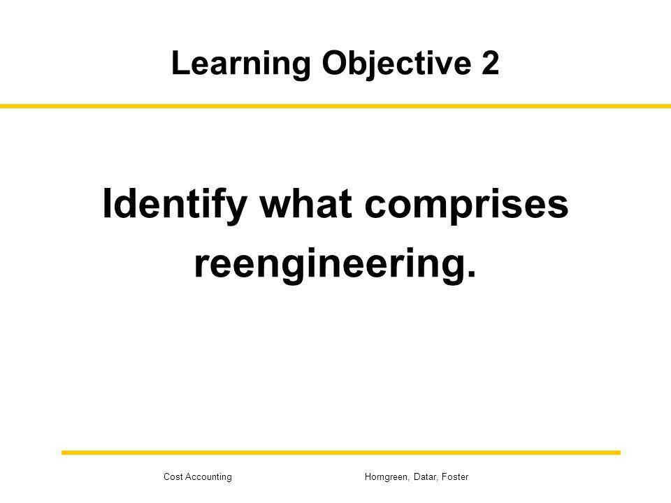 Identify what comprises