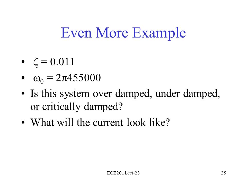 Even More Example z = 0.011 w0 = 2p455000