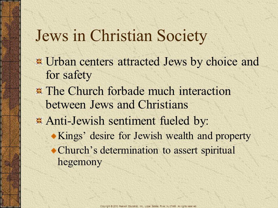 Jews in Christian Society