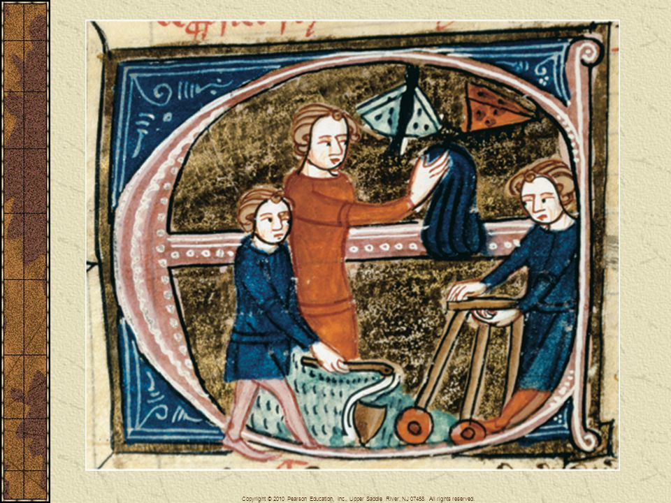 A scene of children at play, illustrating popular pastimes, toys and games: catching butterflies, spinning tops, toddling in a walker. Such scenes document the recognition of a child s world.