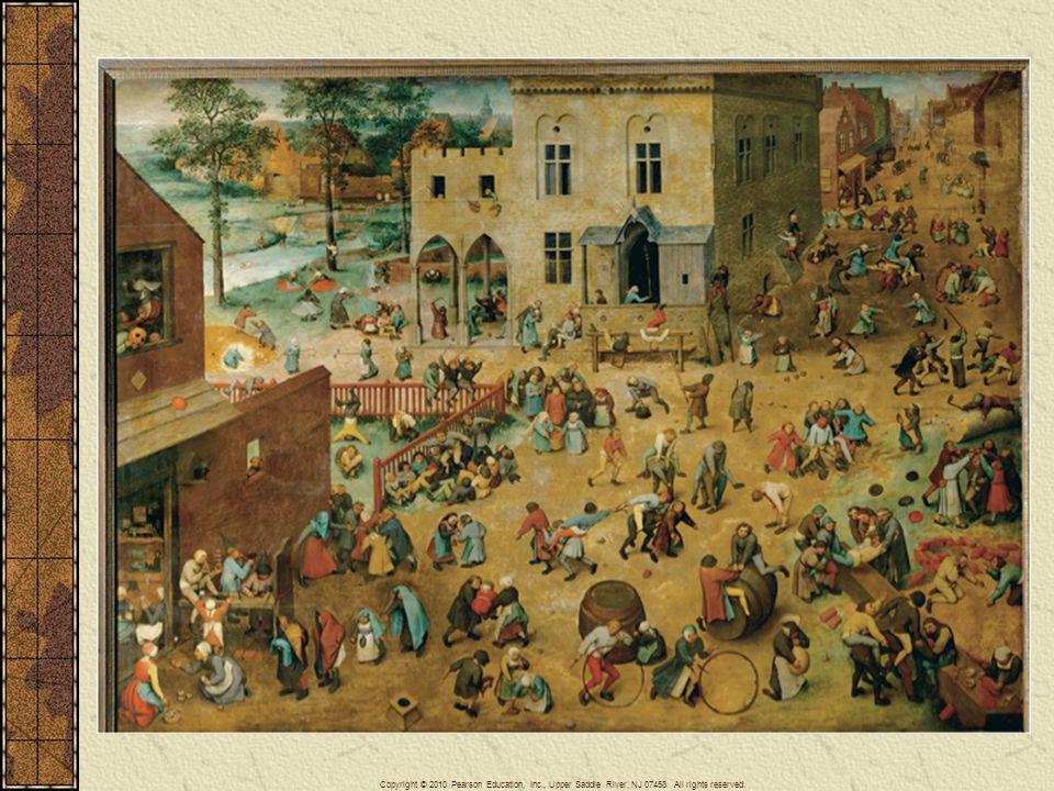 Breughel, Children's Games.