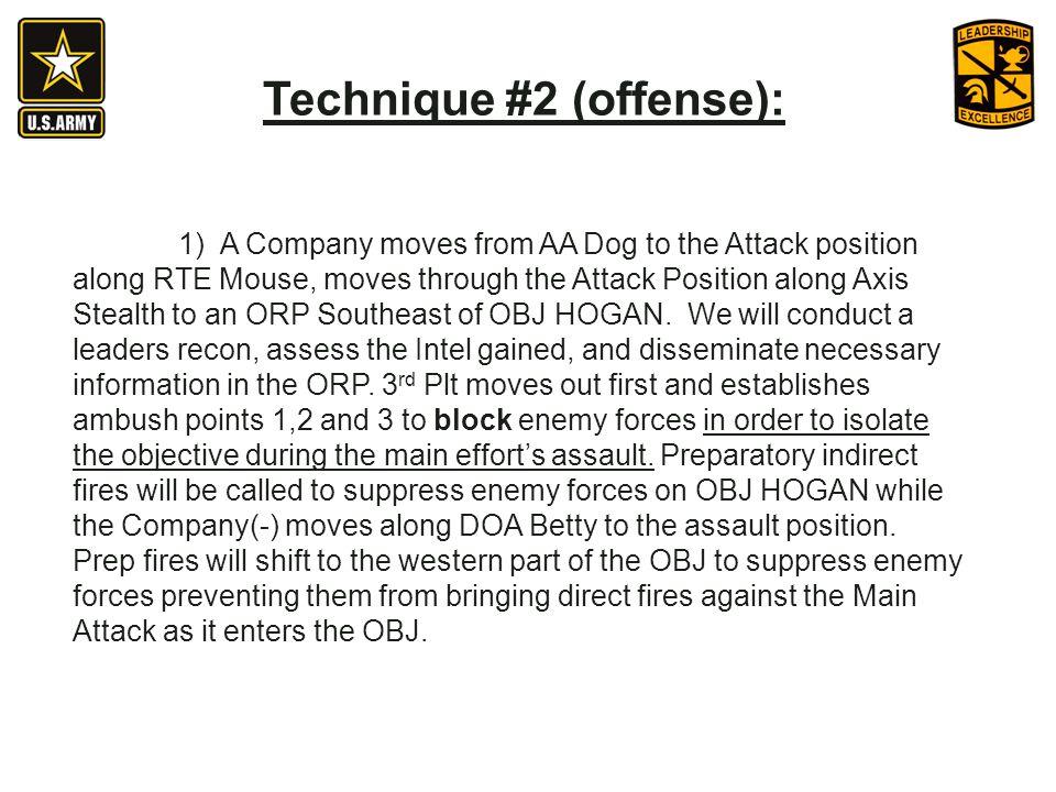 Technique #2 (offense):
