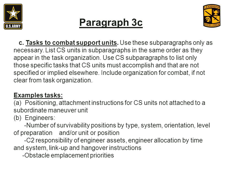 Paragraph 3c