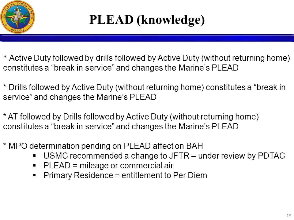 PLEAD (knowledge)