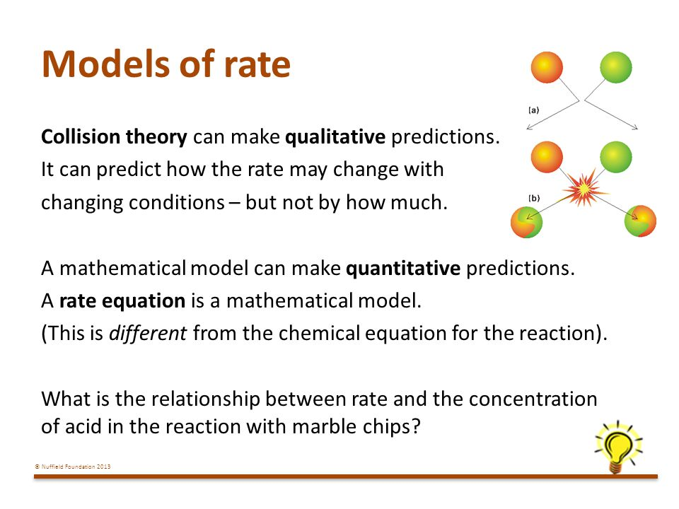 Models of rate