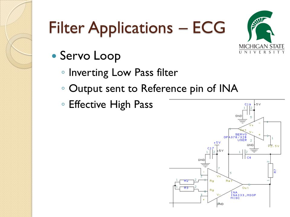Filter Applications – ECG