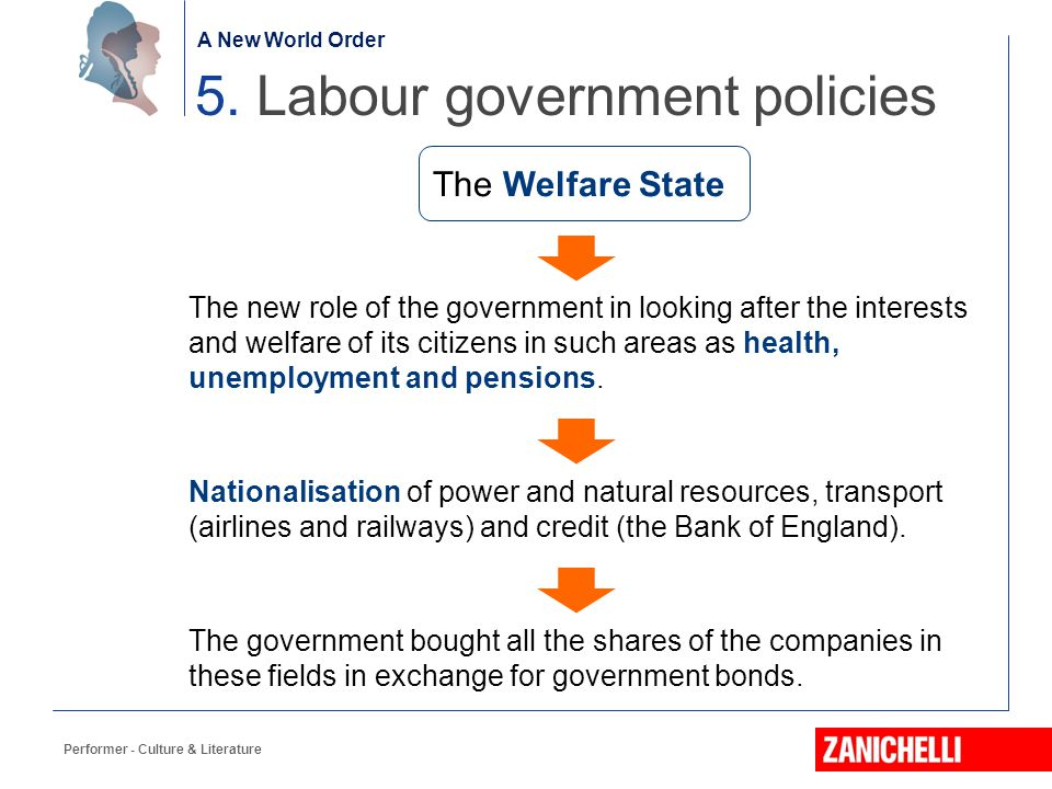 5. Labour government policies