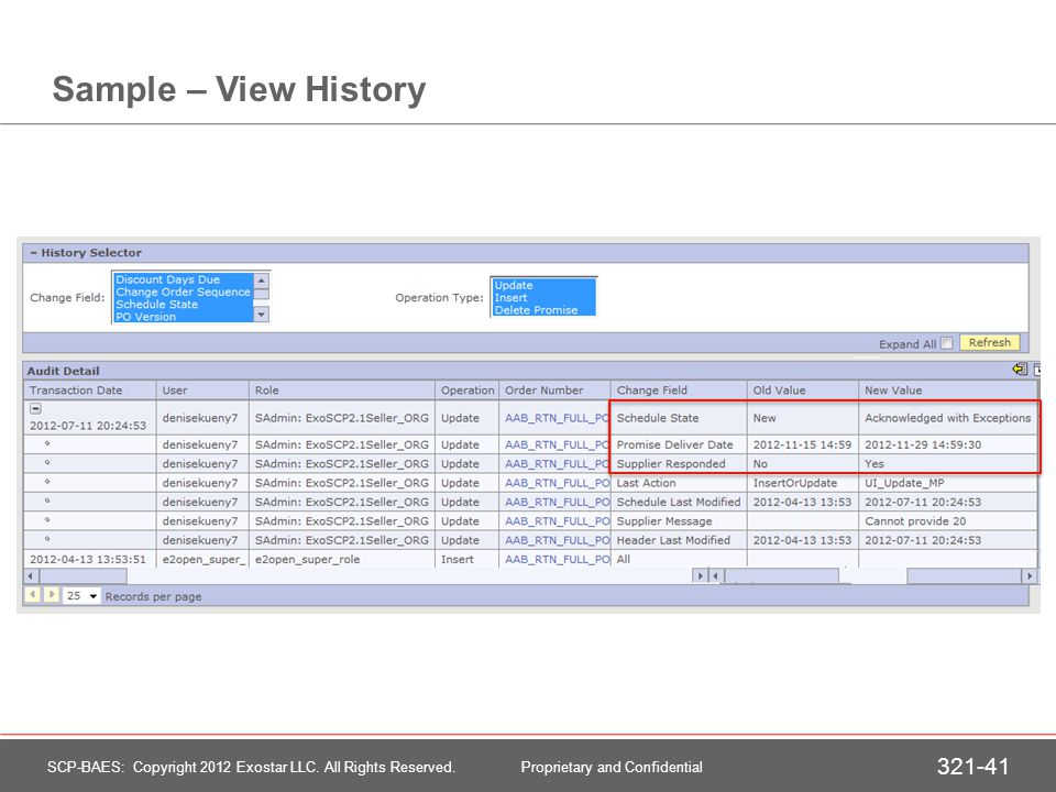 Section Summary We have learned… How to access new orders