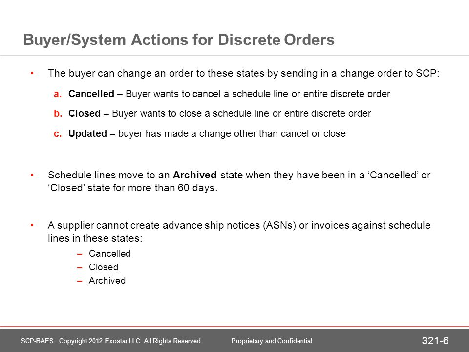 View a Discrete Purchase Order