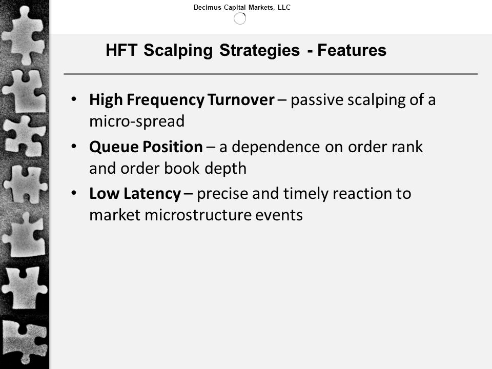 HFT Scalping Strategies - Features