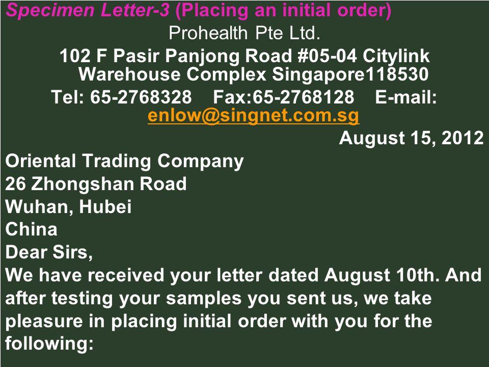 Tel: 65-2768328 Fax:65-2768128 E-mail: enlow@singnet.com.sg