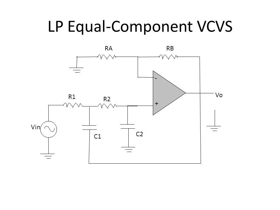LP Equal-Component VCVS
