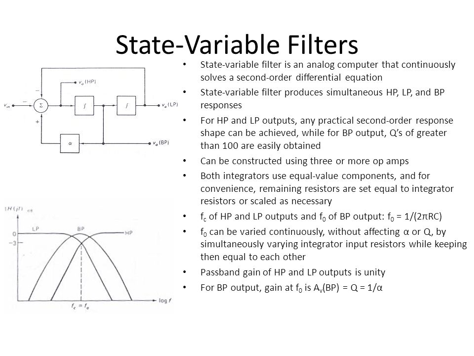 State-Variable Filters
